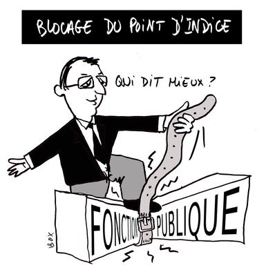 Salaires Des Fonctionnaires Le Point D Indice Toujours Gele Le