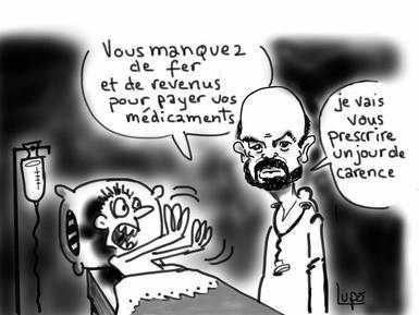 Jour De Carence Demagogie Antifonctionnaires Le Journal Lutte